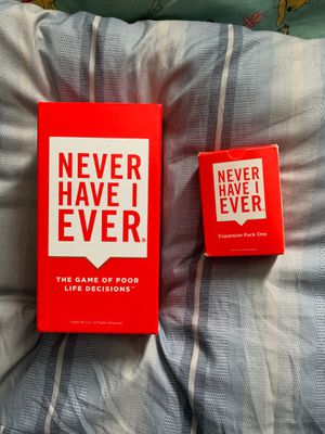 'Never Have I Ever' Adult Party Game for Sale in Orono, ME