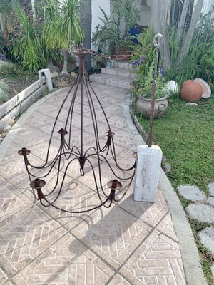 Antique Wrought iron Chandelier for Sale in Long Beach, CA