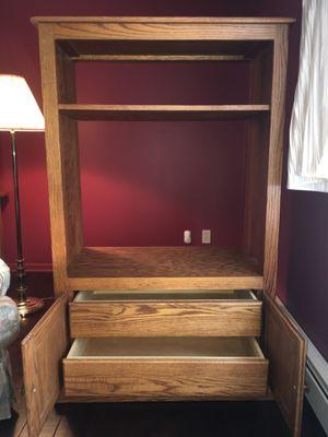 Golden Oak Cabinet for Sale in Charlotte, MI