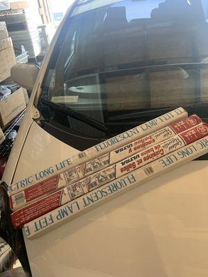 Fluorescent lamps (4 piece) for Sale in Costa Mesa, CA