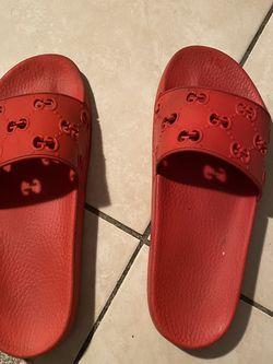 Red Gucci Slides for Sale in Pompano Beach,  FL