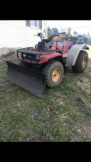 Yamaha 350 snowplow for Sale in Silver Spring, MD