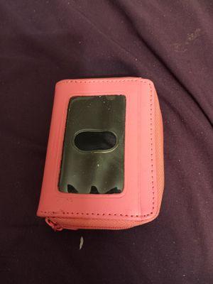 Pink salmon small wallet for Sale in Phoenix, AZ