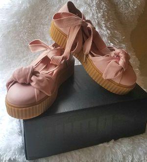 New Fenty Rihanna Puma Pink Creeper Sandal Size 8.5 for Sale in Dallas, TX