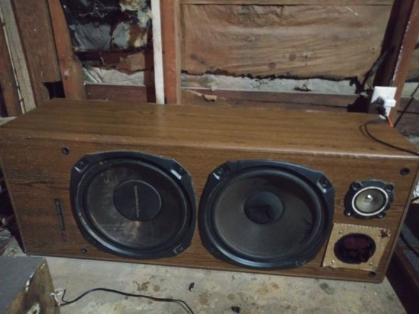 Yamaha 220w receiver and speakers