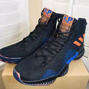 Adidas Pro Bounce 2018 PE Porzingis Knicks Black B41990 Men's Size 12.5 - Brand New without Box for Sale in Glendale, AZ
