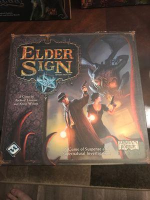 Elder signs board game (fantasy flight) for Sale in Graham, WA