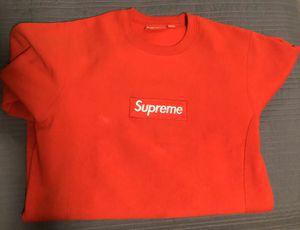 Supreme F/W 2015 Red Crewneck 9/10 Medium for Sale in Los Angeles, CA