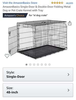 NIB - Foldable Dog Crate Kennel with Tray for Sale in Scottsdale, AZ