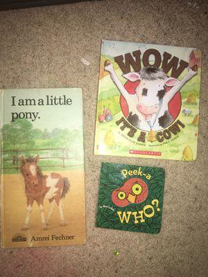 3 children hardback books for Sale in Frisco, TX