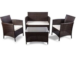 4PCS Outdoor Patio Furniture Set for Sale in ROWLAND HGHTS, CA