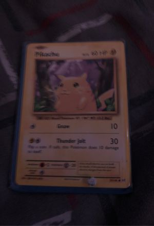 Pokemon card for Sale in Parkland, WA