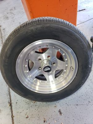 American Racing Alloy wheels and BFG tires for Sale in Brentwood, CA