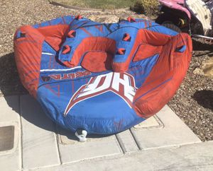 Massive towable tube, holds 4 people! Loads of fun for Sale in Las Vegas, NV