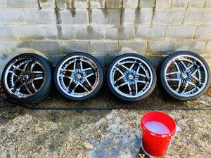 20 Inch Rims w/Spare Tire for Sale in Temple Hills, MD