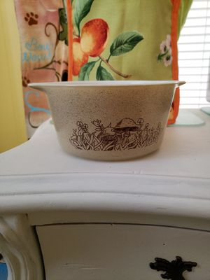 Vintage Pyrex Casserole 473B Mushrooms—Forest Fancies for Sale in Margate, FL