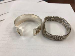 2 Tiffany&co bracelet for $150 for Sale in Trenton, NJ