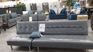 Leatherette futon set for Sale in Chino Hills, CA