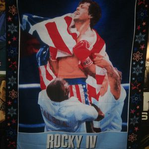 Rocky 4 Tapestry Cloth (Vintage 1980's) for Sale in Waterbury, CT
