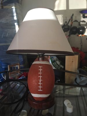 Football lamp for Sale in Waltham, MA