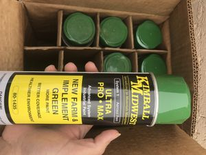 Industrial john deer spray paint for Sale in Yuma, AZ