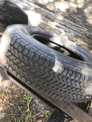 Trailer tires 205/75R14 for Sale in Ruskin, FL