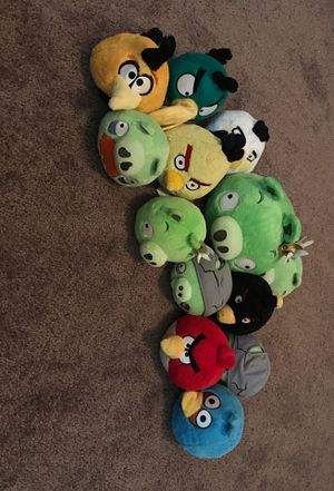 Angry Bird Plushies for Sale in Forney, TX