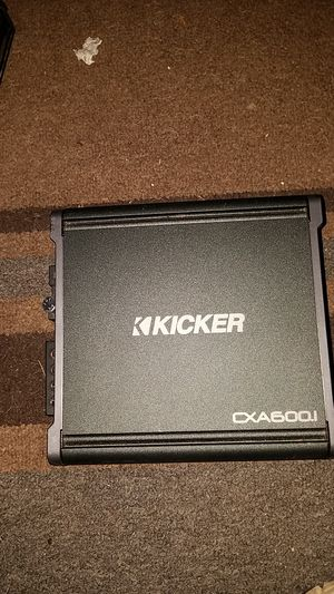 Kicker cxa600.1 amp for Sale in Circle Pines, MN