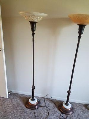 Tall floor lamps. for Sale in La Grange, MO