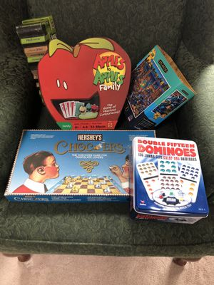 Games and puzzle-pending pick up for Sale in Puyallup, WA