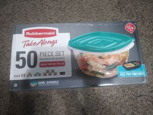50-Piece Food Storage Containers for Sale in Grand Rapids, MI