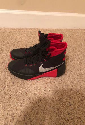 Red and Black Nike Shoes- Size 5 1/2 for Sale in Smyrna, GA