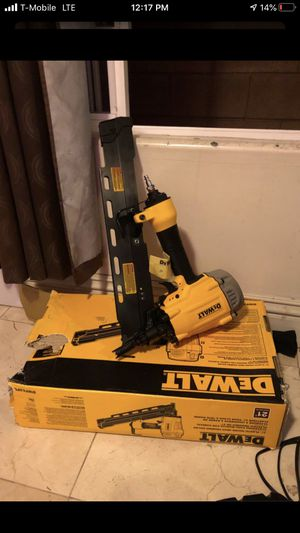 Framing Nail Gun New Dewalt Carpenter Tools for Sale in Los Angeles, CA