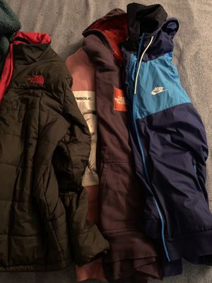 Name brand jackets/hoodies for Sale in Columbus, OH