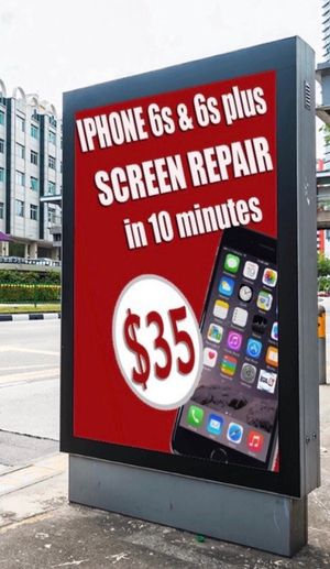 iPhone 6S & 6S plus screen with LCD for $35 in 10 Minutes! Quality Guaranty !!! for Sale in Tampa, FL