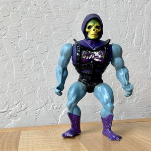 Vintage Heman and the Masters of the Universe Battle Armor Skeletor Action Figure, Mexico 1981-1983 MOTU Toy for Sale in Elizabethtown, PA