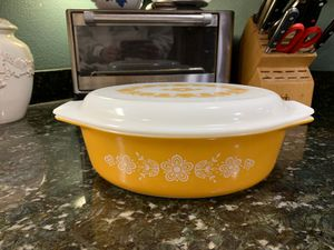 Pyrex Golden Butterfly casserole set for Sale in Puyallup, WA