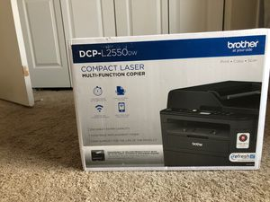 Brother DCP-L2550DW Wireless Monochrome Laser All-In-One Copier, Printer, Scanner for Sale in Frederick, MD