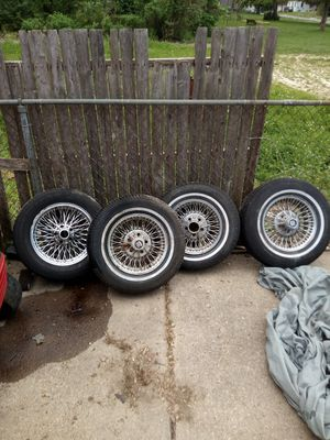 """FWD15"""" caddy rims old China junk. for Sale in Detroit, MI"""