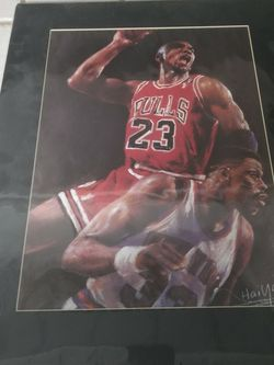 Michael Jordan Lithograph Print for Sale in Springfield,  IL