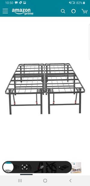 Full size 18 inch platform bed frame.. BRAND NEW..can deliver for Sale in Euclid, OH