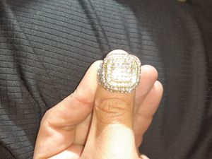 Men's diamond crust ring for Sale in Dunedin, FL