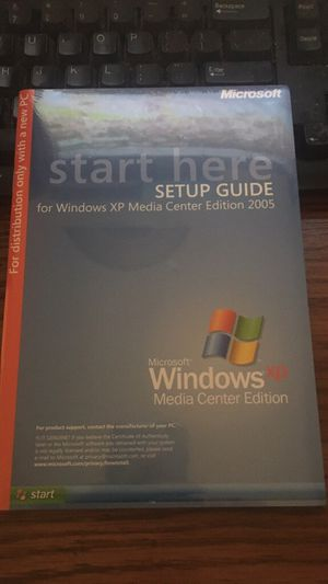 New sealed windows xp media center edition for Sale in Santa Maria, CA
