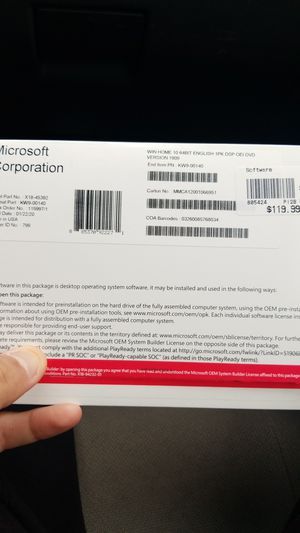 Windows 10 64bit used for Sale in Cleveland, OH
