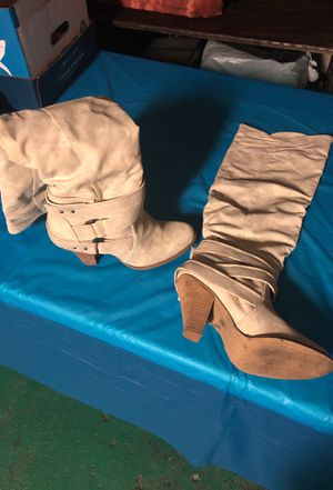 Suede thigh high boots size 6 for Sale in Lyons, IL