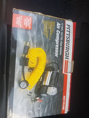 New pittsburgh air compressor for Sale in San Antonio, TX