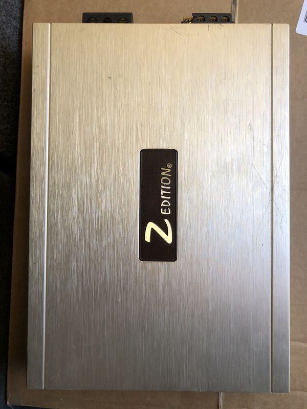 Z edition 4ch. Amp
