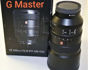 Sony FE 100mm GM f2.8 STF OSS Full Frame Camera Lens Gmaster, G Master, G-master for Sale in Miami, FL
