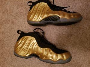 Nike flightposite metallic gold size 12 for Sale in Rockville, MD