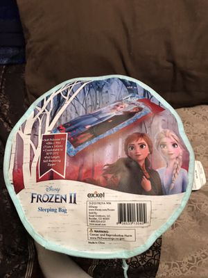 Disney's Frozen II Anna And Elsa Sleeping Bag for Sale in Sioux Falls, SD